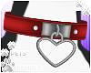 [Pets]HeartCollar|red