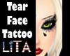 Tear Face Tattoo