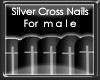 +vkz+ M/ Nails -SilverCr