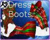 [9 Christmas Furry Dress