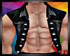 BIKER vest black