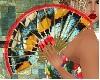 Butterfly wing fan
