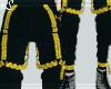 Warning Black Pants