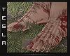 ⚜ Bloody feet