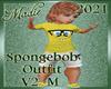 SpongeBob Outfit M V2