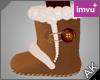 ~AK~ Winter Boots: Tan