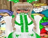 Green CandyCane Pacifier