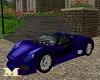 Blue Sport Cabrio