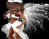 White Angel Wings {F}