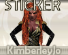 Star Trek Lursa Sticker