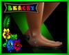 B♥ SlvHeart Sandals