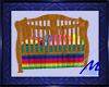 Rainbow Horse Crib