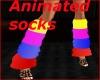 Animated leg warmers