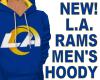 RAMS 2020 MEN'S HOODY  B