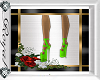 Lime Green Platform Shoe
