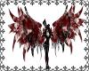 Sheer Skull Image Wings