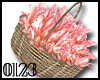 *0123* Shiny Pink Basket