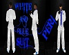 ~PERI~WHITE~BLUE~SUIT~