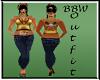 BBW Leana Outfit copper
