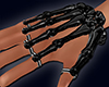 Black Skeleton Hand M&F