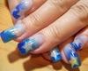 Blue Star Nails