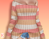 K|ShoulderSweaterStriped