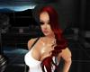 (R) Red Hair with Beanie