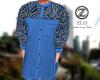 >ZL0< Azure Kurta Top