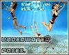 3 diving poses x3