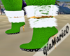 g;green HNY boots