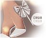 Shimmery Heels White 3