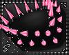 !!S Shoulder Spike Pink