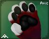 """| Black paw pads"