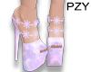 ::PZY:Purple pastel Shoe