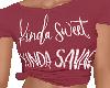Sweet N Savage Tee