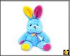 Blue Bunny Sticker