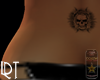 SunSkullVanishing Tattoo