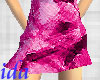 ida Pink Short Skirt