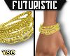 F>Vintage Gold Bracelets