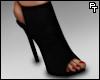 Red Bottom Heels. (Blk)