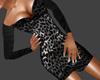Silver Leopard Dress