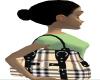 brown burberry  purse