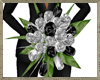 Blk&Silver Wedding Bouqu