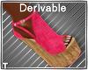 DEV - Jeesy Pink Sandals
