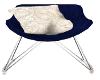 Blue n White Chair