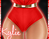 RXL Golden Red Shorts