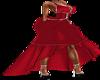 XXL RED COCKTAIL DRESS