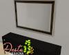 ID: Noir dresser mirror