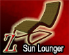 [Z]Wicker Sun Lounger