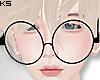 K| Glasses Black